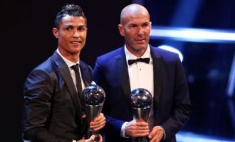 The Best FIFA Men's Player : Cristianao Ronaldo po peti put najbolji  igrač svijeta (Video)