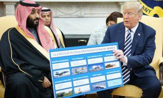 """Donald Trump : """"Uživam! Hvala Saudijskoj Arabiji!"""""""