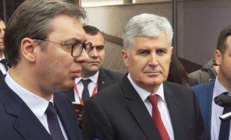 Vučić u Mostaru o Dodikovim mapama : Srbija nema nikakvih pretenzija prema BiH, Hrvatskoj, Crnoj Gori niti prema Sjevernoj Makedoniji